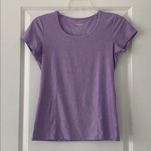 Reebok purple workout top